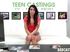 Teen Model Gets Interviewed
