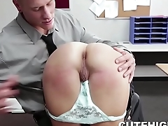 Traffic Student Spanked and Fucked