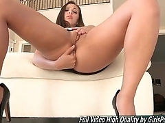 Jenna porn brown tits solo fingering anal toys
