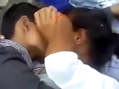Indian University Group Couples Having Fun Outdoor