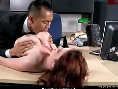 Milf was hard fucking first of all office writing-desk 23