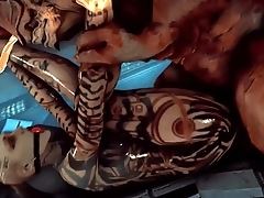 Mass Effect - Wrex - Full Compilation GIF