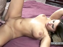 Slutty MILF Lexxxi Lockhart takes some dick from a geek