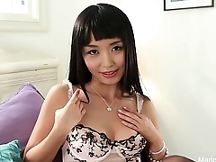 Marica Hase Uses a vibrator
