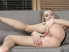 Strange czech girl spreads her narrow vulva to the extreme