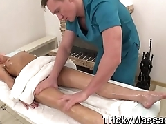 Masseur PornMovies Featuring Delicate Teen