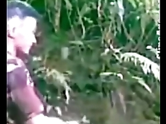 Indian Sexy Nepali girl gets dress lifted and fucked doggy style at outdoor - Wowmoyback