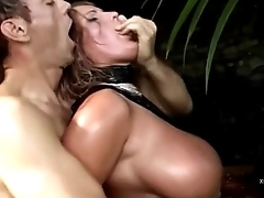 A blonde big tits buggered doggystyle by Rocco Siffredi