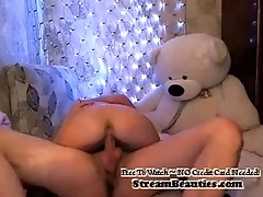 Nice Webcam Blond Getting Cum In all directions from Over Her Face - StreamBeauties.com