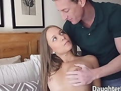 Elsa Dream and Liza Rowe Fucked by Stepdads