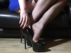French Hight Heels Fetish