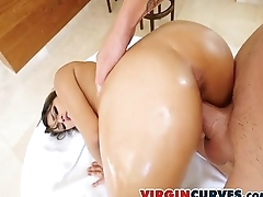 Thick White BubbleButt Banged-Out