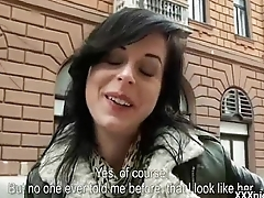 Public Pickup Girl Sucking Big Dick For Cash Outdoors 11
