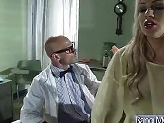 Hard Sex Walking-stick With Dirty Doctor And Slut Patient (bonnie mia) clip-06