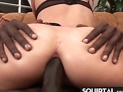 Squirting Goth Girl Needs More Cum 4