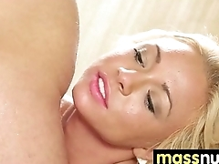 Lucky Client gets a Full Subvention Massage 11