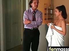 Husband Cheats with Masseuse in Room 28