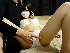 Masked asian screams as she gets her pussy stiff with - tightpussycam.com
