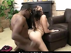 Horny milf having interracial sex 15