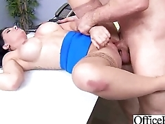 Sex Tape With Round Big Tits Horny Office Girl (casey cumz) clip-13