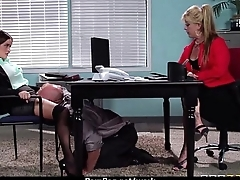 Busty hottie has hardcore office affair 13