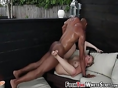 Classy HighDef Interracial With Black-Cock-Slut