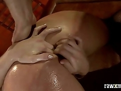 Hot anal babe squirting and deepthroat