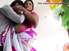 Young Aunty Romantic Bed