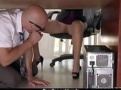 Submissive office busty assistant finally fucks her boss 19