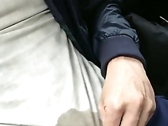 pissing during taxi ride