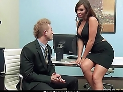 Busty Babe Fucking Will not hear of Boss In The Office 7