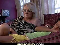 Lesbian mommy wanna eat her young pussy
