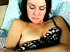 The man chap-fallen slim old spunker fucks her succulent pussy just for you