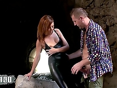 Fucking a crazy slut in the ass and making her  squirt take the place